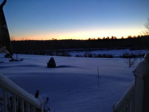Sunrise, 06 February 2016