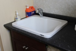 New utility room sink/base