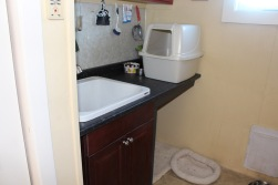 New utility room sink