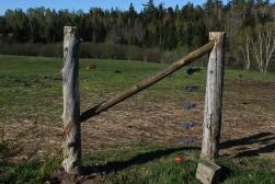 Fence brace detail