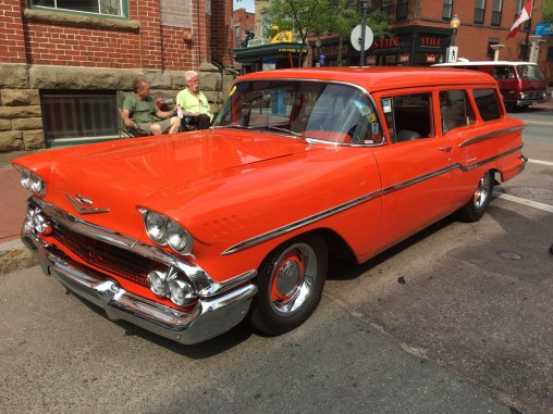 1958 Chevy 2-door Station Wagon